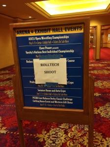 ROLLTECH SHOOT STRAIGHT AHEAD!